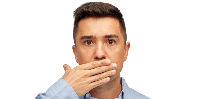 halitosis is a condition that can cause social anxiety