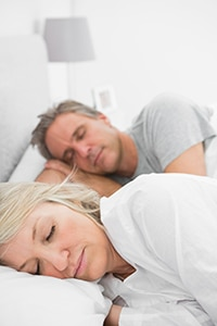 A couple that received Sleep Apnea Treatment from Firouzian Dentistry in Columbus, Ohio