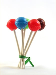 An image of tootsie pops