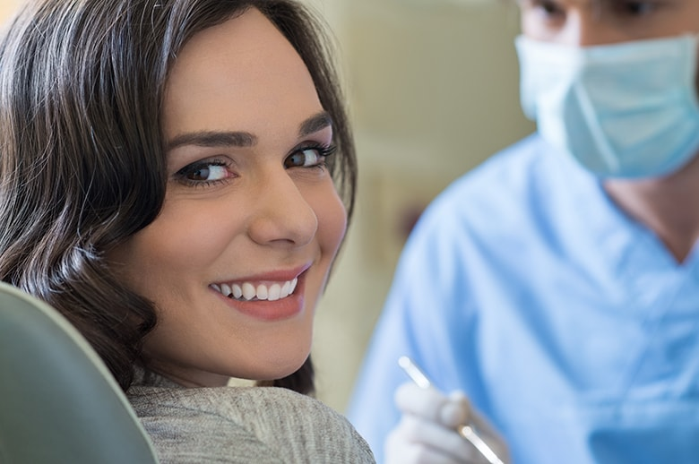 What to Do about One Dark Tooth | Cosmetic Dentist Columbus